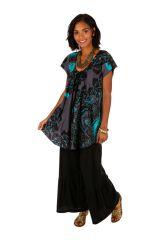 Tee-shirt féminin coupe ample en coton léger pour l'été Jessy 306228