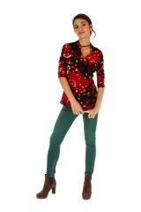 Tee shirt féminin et original avec cache-cœur Melissa 312784