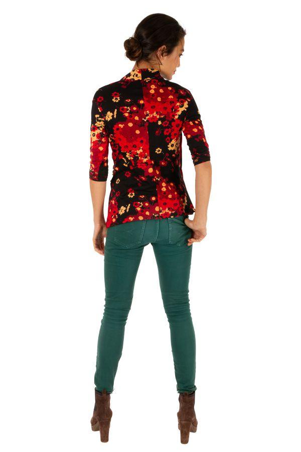 Tee shirt féminin et original avec cache-cœur Melissa 312785