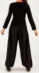 Tee-shirt femme à manches longues baba cool Kamila