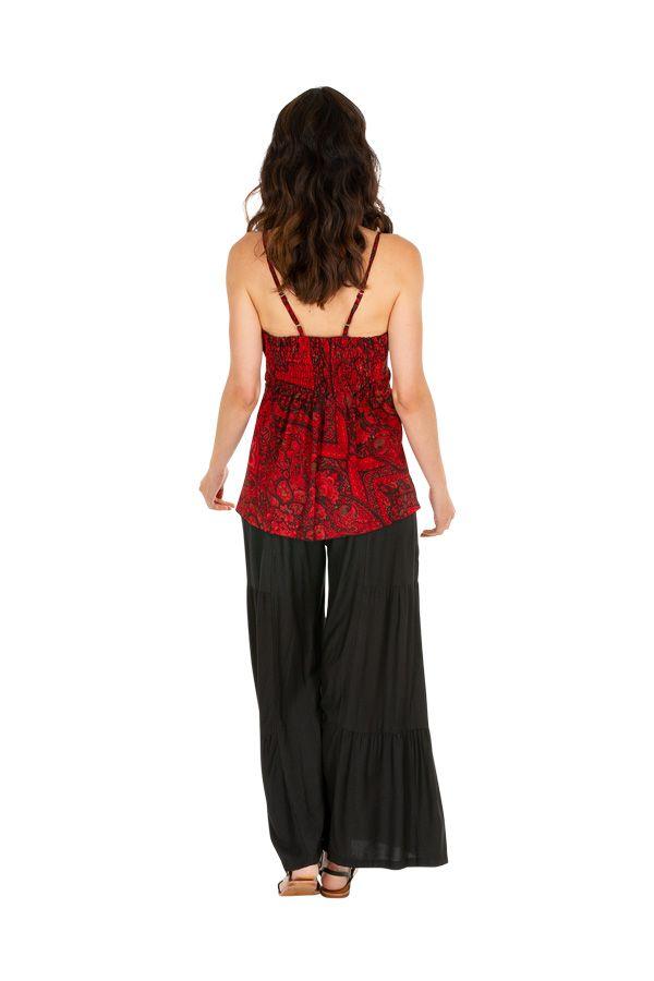 Tee-shirt femme avec effet de superposition original Marinie 309006