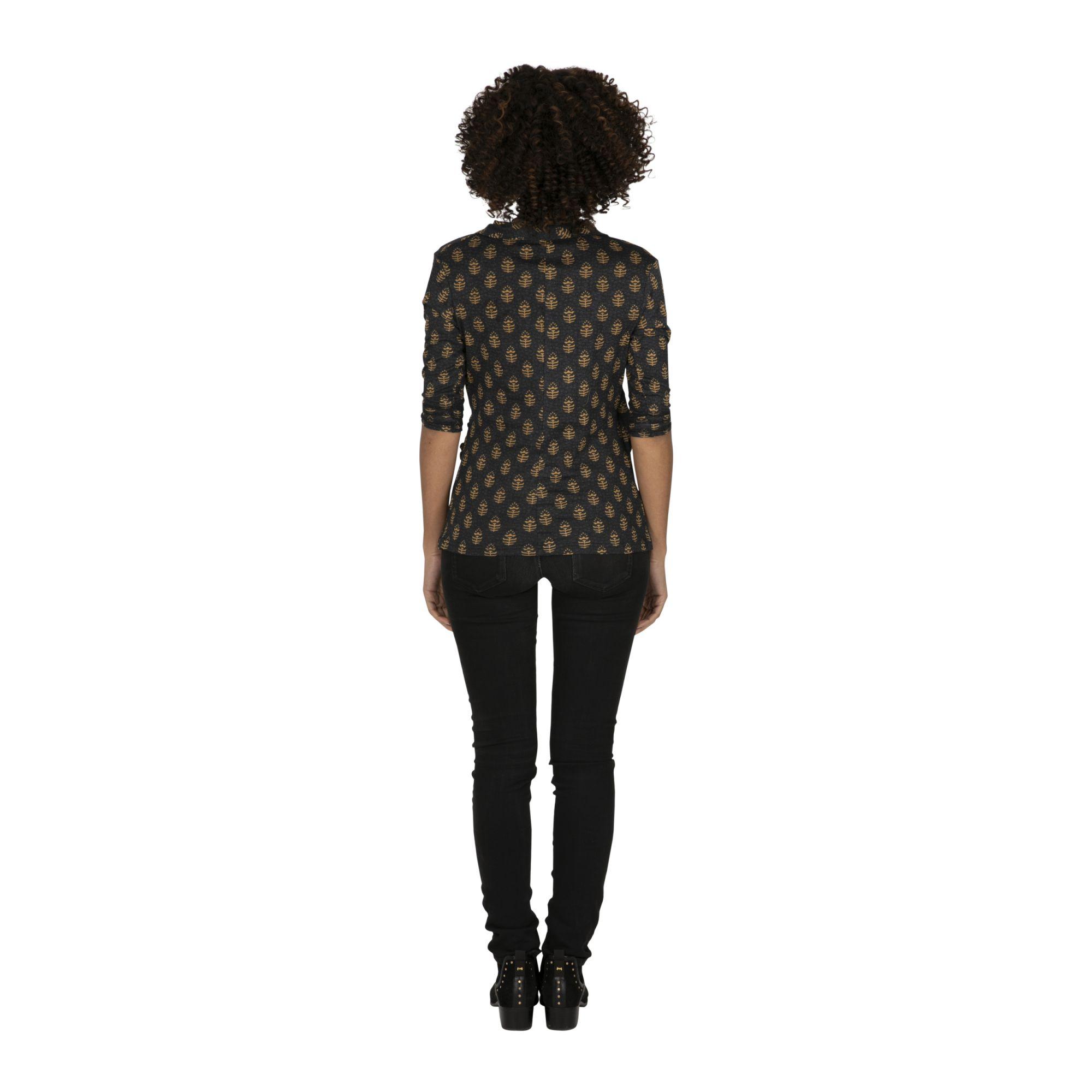 Tee-shirt femme chic pas cher au col V Jinja