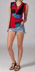 Tee-shirt femme colorée Macarena 269085