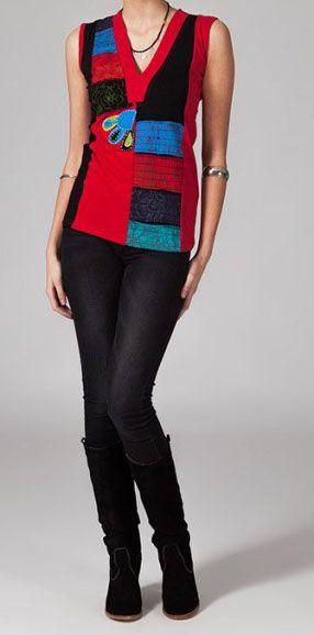 Tee-shirt femme colorée Macarena 269086