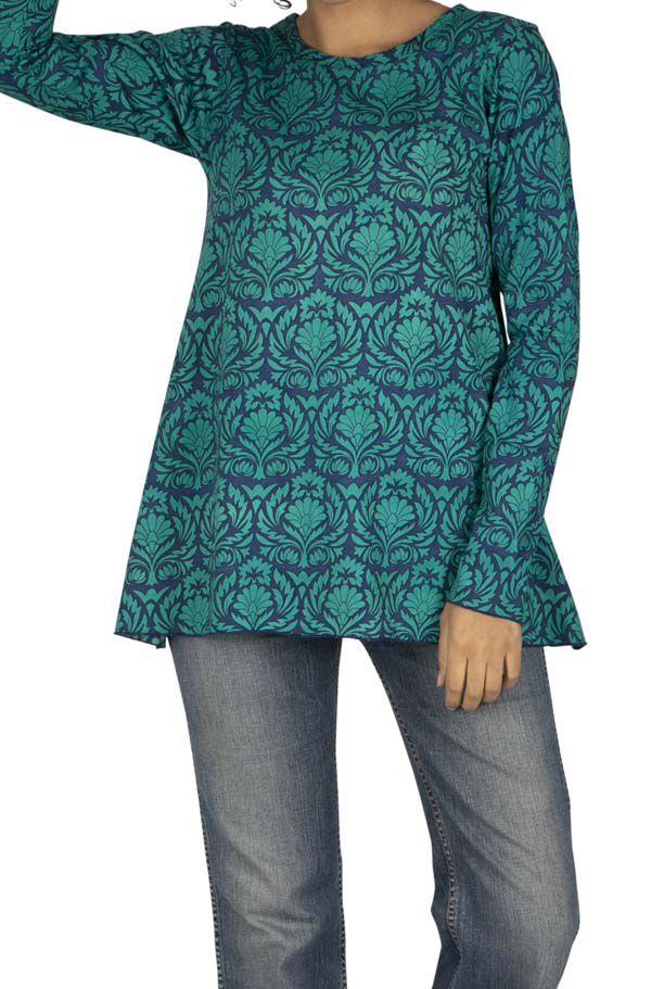Tee-shirt femme original au look vintage Mantany