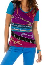 Tee shirt femme original chic ethnique pas cher Supra 314170