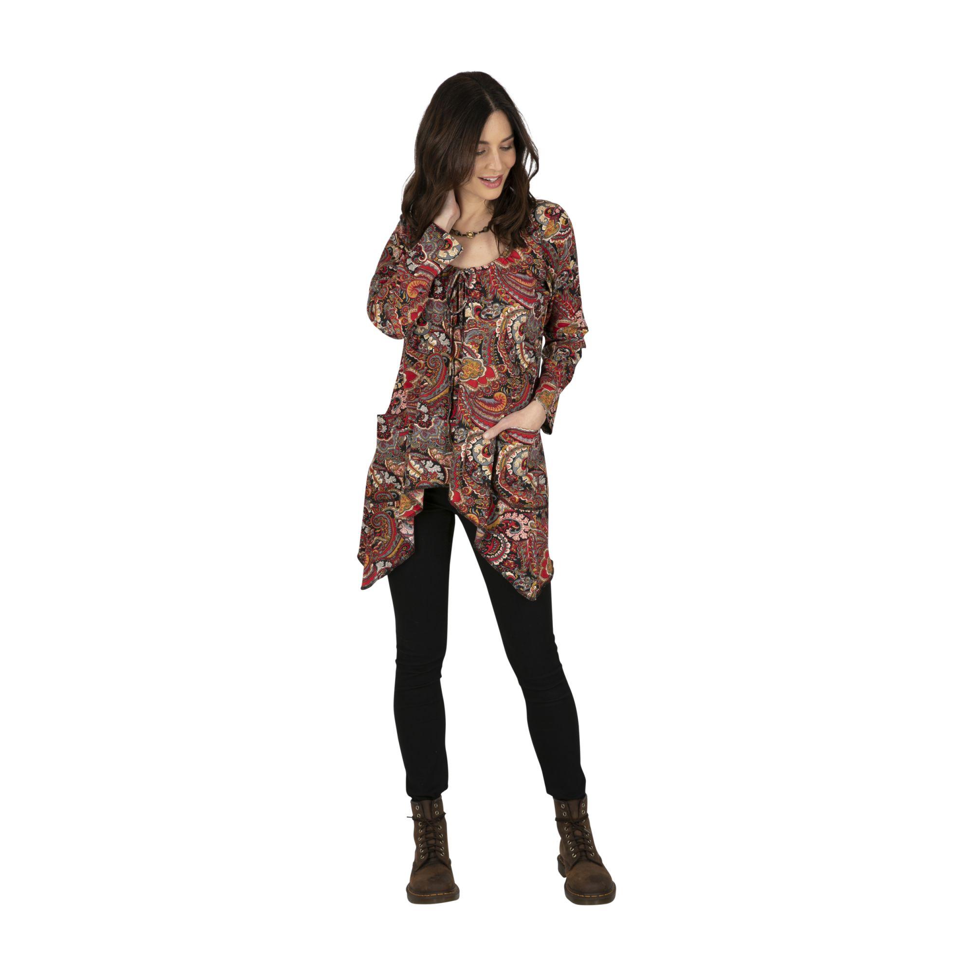 Tee-shirt femme original et pas cher à nouer Riobambé