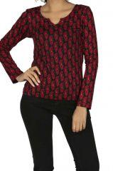 Tee-shirt femme pas cher aux imprimé chics Mayahi