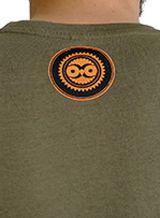 Tee-Shirt Kaki à connotation Maya imprimé et Original Braddy 297484