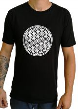 Tee-shirt Noir pour homme Imprimé géométrique et Original Altéa 297278