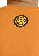 Tee-Shirt Orange à connotation Maya imprimé et Original Braddy 297492