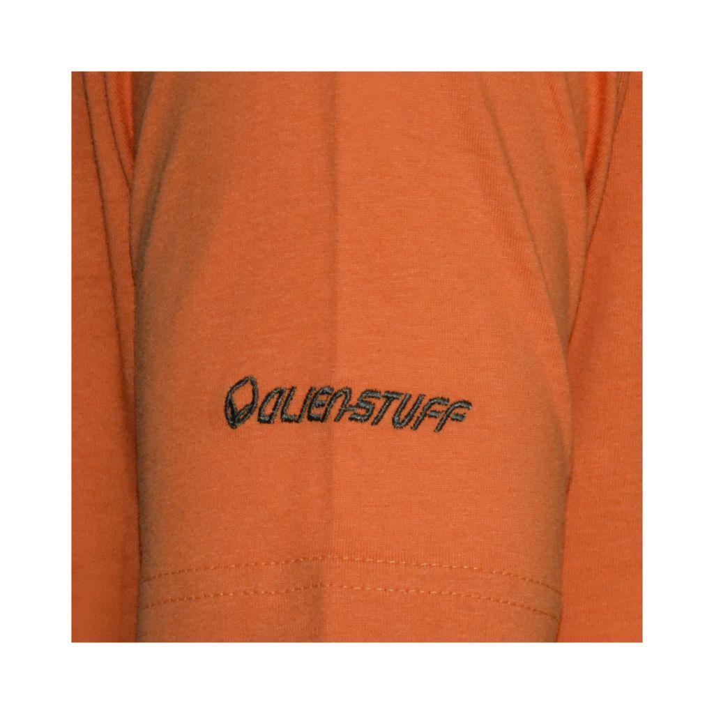 Tee-shirt Orange pour homme Imprimé géométrique et Original Altéa 297303
