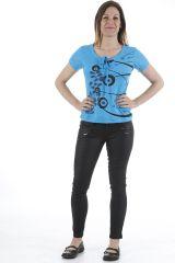 Tee-shirt pour femme original et très coloré Pascal 310973