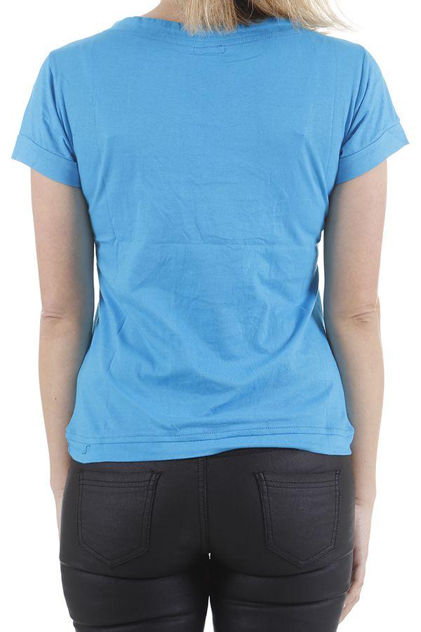 Tee-shirt pour femme original et très coloré Pascal 310974