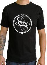 Tee-shirt pour homme coupe droite et logo original Noir Zack 297582