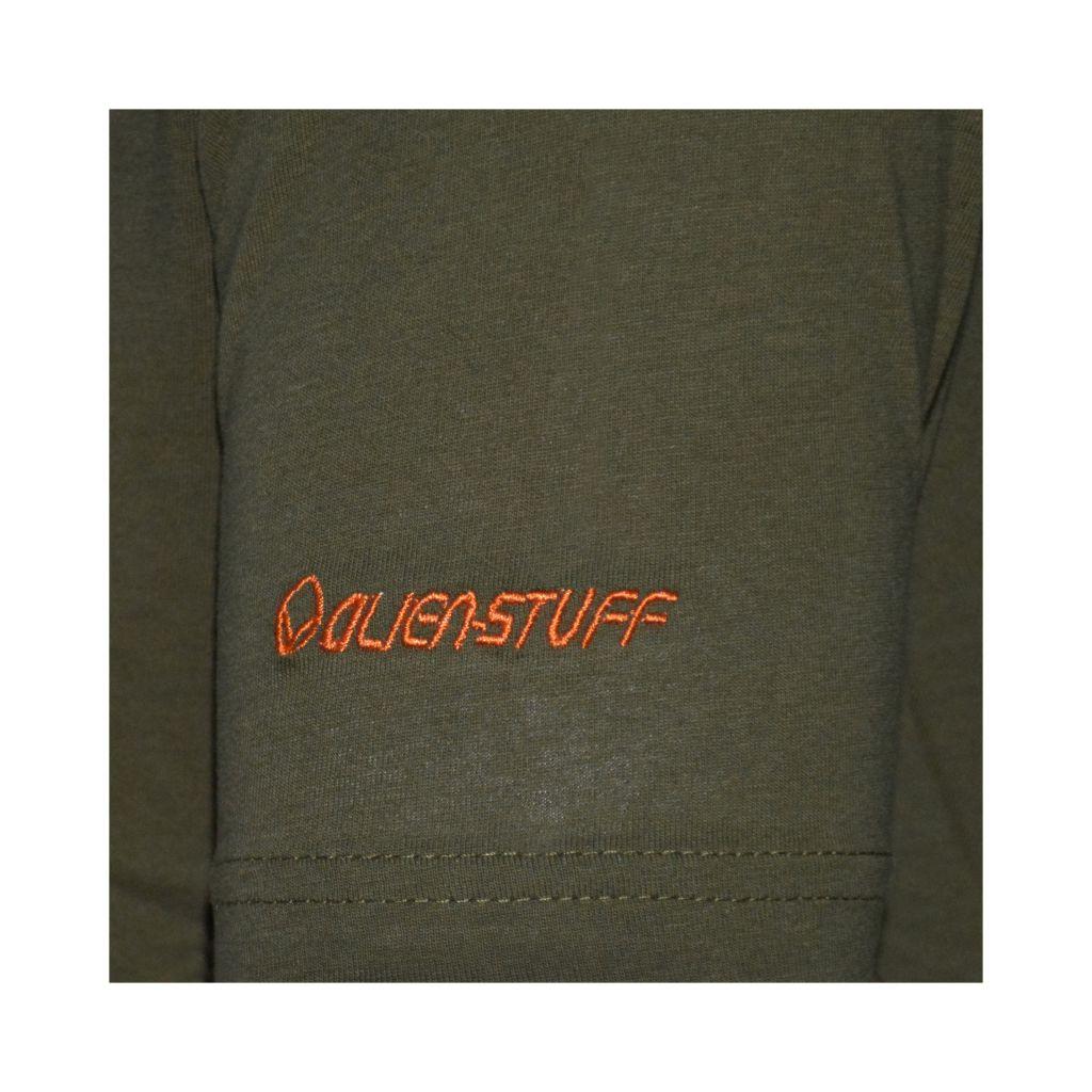 Tee-shirt pour homme Imprimé géométrique et Original Altéa Kaki 297300