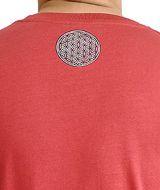 Tee-shirt pour homme Rouge Imprimé géométrique et Original Altéa 297306