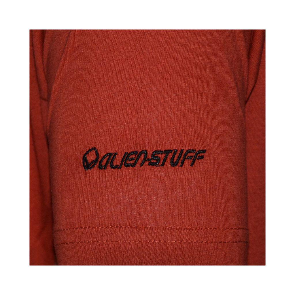 Tee-shirt pour homme Rouge Imprimé géométrique et Original Altéa 297307