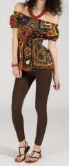 Top à épaules dénudées original idéal pour l'été Zouma 271815