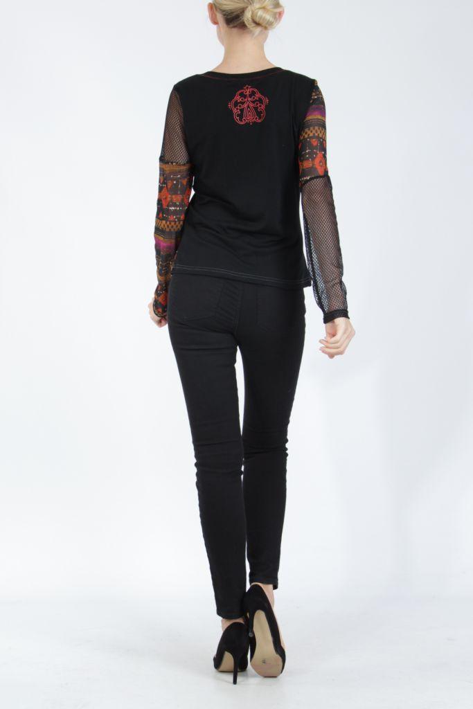Top à manches longues féminin et original Summy 305161