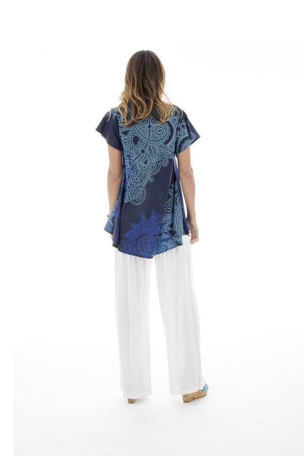 top ample manches kimono et col en v Sark 290012