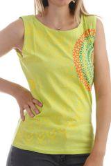 Top Anis à larges bretelles avec imprimés ultra fantaisies Anissa 298049