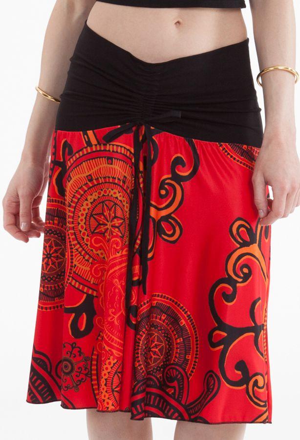 Top Bustier ou Jupe Rouge Original et Coloré Carlito 282219