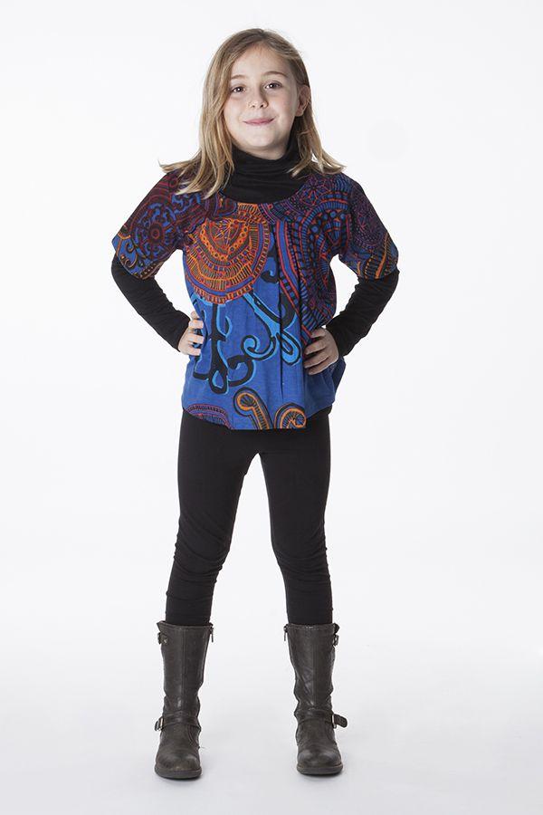 Top court pour enfant coloré à manches courtes 287519
