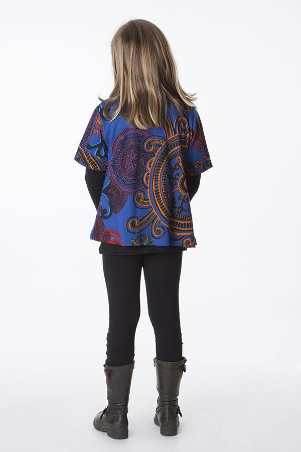 Top court pour enfant coloré à manches courtes 287520