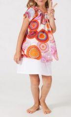 Top ethnique coloré pour fille N11 268185