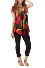 Top femme ample été coloré Kerwan 267683