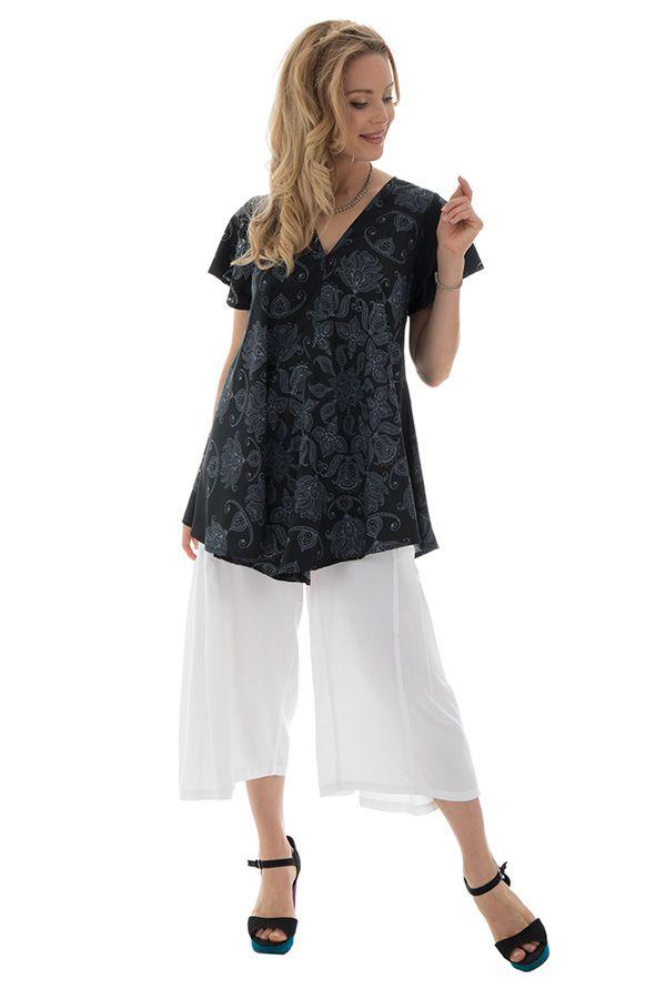 top manches kimono avec col en v et coupe ample Swindale 290020