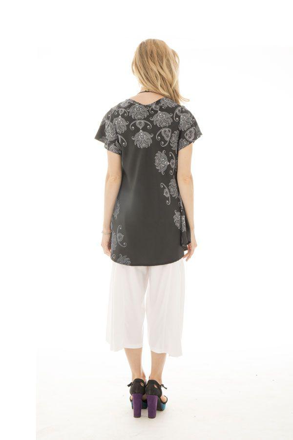 top manches kimono avec col en v et coupe ample Swindale 290021