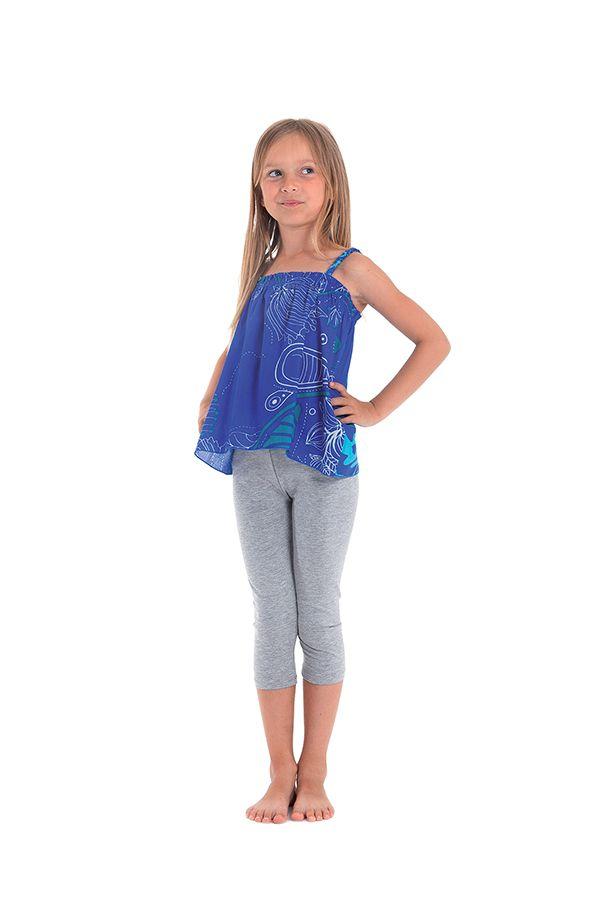 Top pour Enfant Bleu à bretelles Ethnique et Coloré Flinky 280457