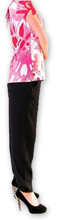 Top pour Femme à manches courtes Original et Coloré Azale Blanc 276811