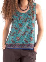 Top pour femme modulable Original et Coloré Nolan Turquoise 280894