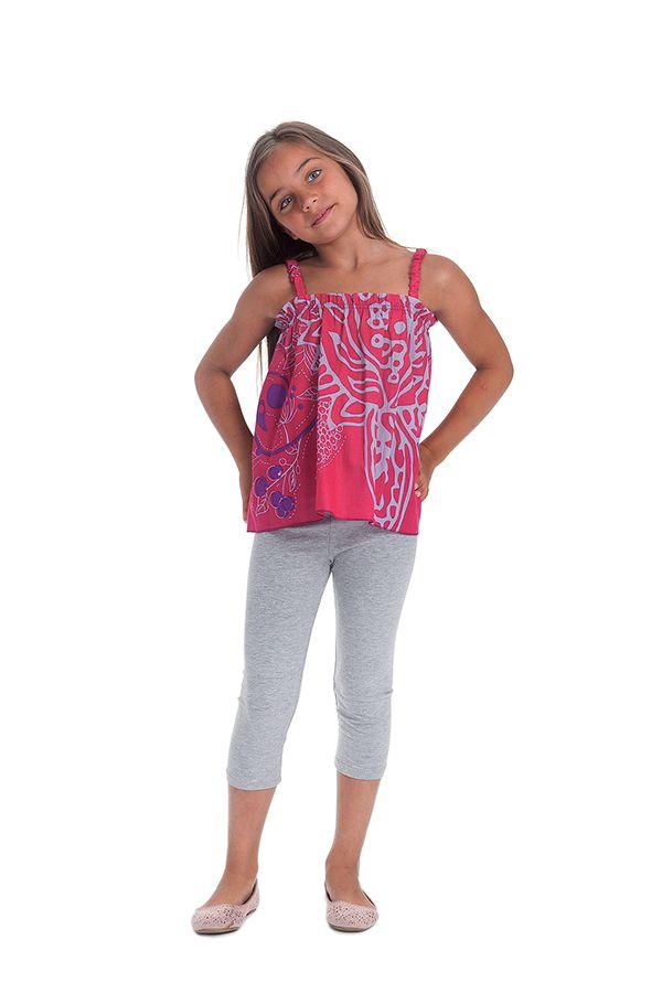 Top Rose pour Enfant à bretelles Coloré et Ethnique Flinky 280459