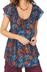 Top style blouse d\'été pour femme original Aurélien