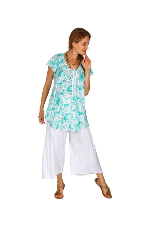 Top tee-shirt avec un imprimé fleuri pour femme Leva