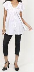 Très belle blouse femme pas chère blanche Salsa 272016