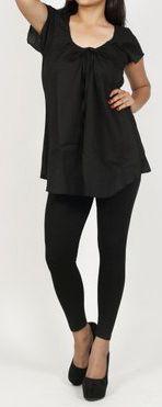Très belle blouse pour femme pas chère noire Salsa 272010