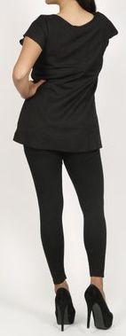 Très belle blouse pour femme pas chère noire Salsa 272011