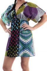 Tunique à manches amples Colorée et Imprimée Baylina 286056
