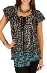 Tunique à pois en coton pour l' été Alexia 292185