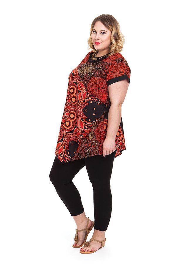 Tunique ample d'été pour femme en grande taille Mélanie 284751