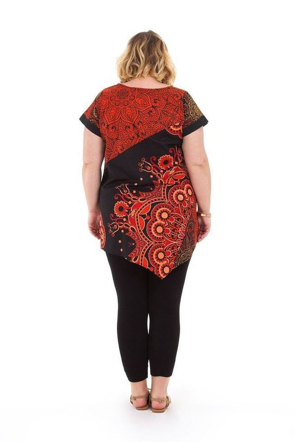 Tunique ample d'été pour femme en grande taille Mélanie 284752