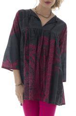 tunique ample pour femme avec cordon et manche 3/4 Rolls 291987