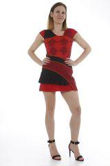 Tunique au style patchwork originale et ethnique Keny 312383