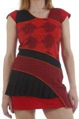 Tunique au style patchwork originale et ethnique Keny 312384