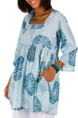 Tunique blanche de plage pour un style bohème Nohra 314899